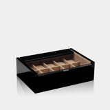 Lucia 10 Piece Watch Box Black - MODALO GmbH
