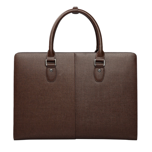 MODALO Business leather bag MILANO Brown (display model) - MODALO GmbH