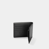 HIRSCHHORN Men´s Leather Wallet Black - MODALO GmbH