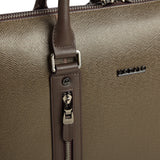 MODALO Business leather bag DALLAS Taupe - MODALO GmbH