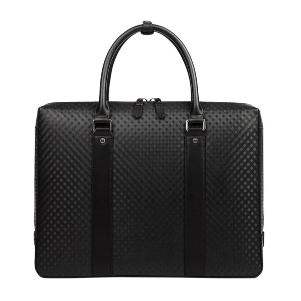 MODALO Business leather bag DALLAS Black - MODALO GmbH
