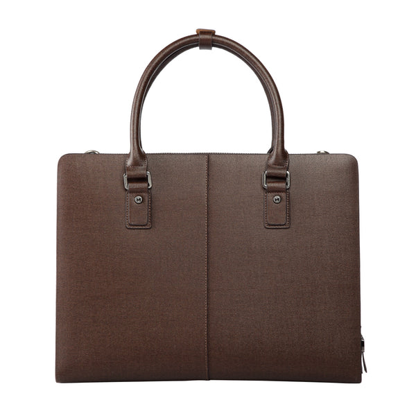 MODALO Business leather bag HONGKONG Brown - MODALO GmbH