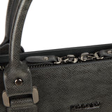 MODALO Business leather bag New York Darkgrey - MODALO GmbH