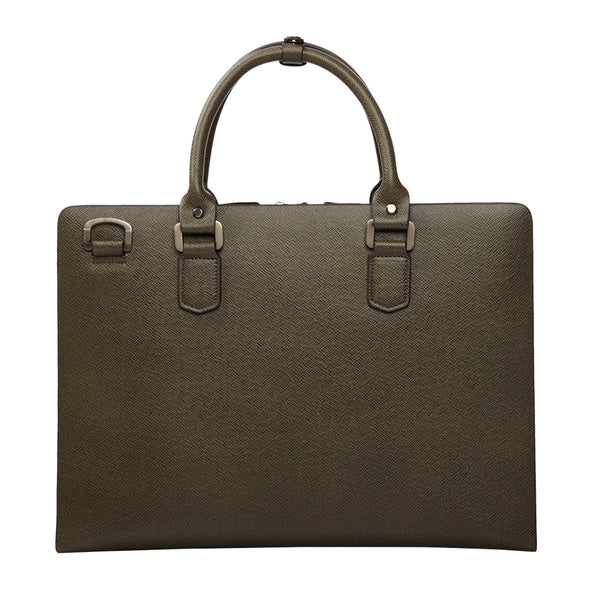 Kopie von MODALO Business leather bag New York Taupe - MODALO GmbH
