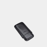 Cigar Leather Case for 3 Cigars Black - MODALO GmbH