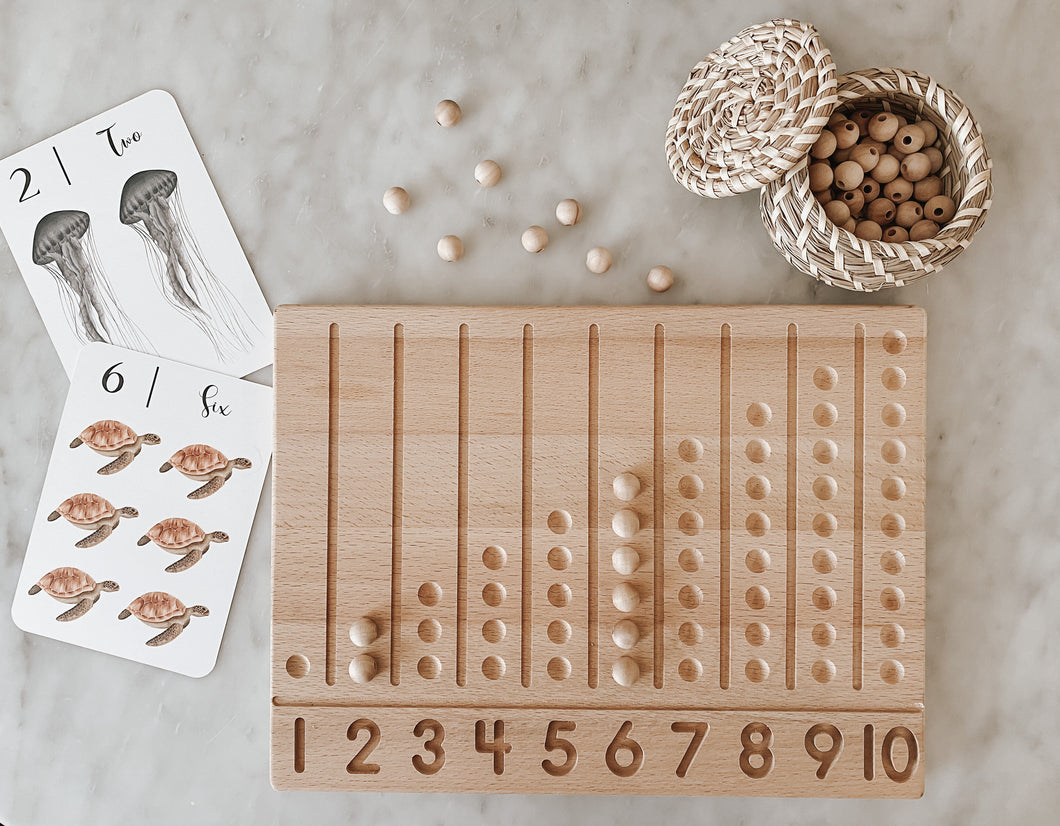 Wood Counting Board