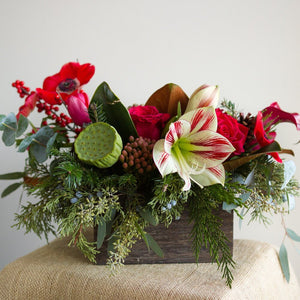 Petite Holiday Centerpiece