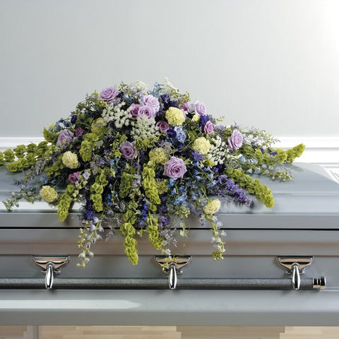 Garden of Love Casket
