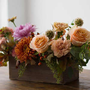 Autumn Box of Blooms