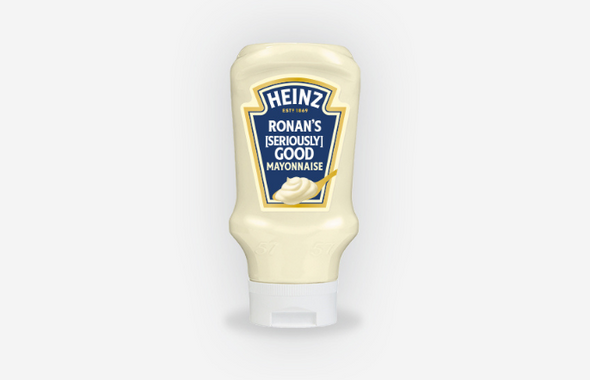 PERSONALISED HEINZ [SERIOUSLY] GOOD MAYONNAISE