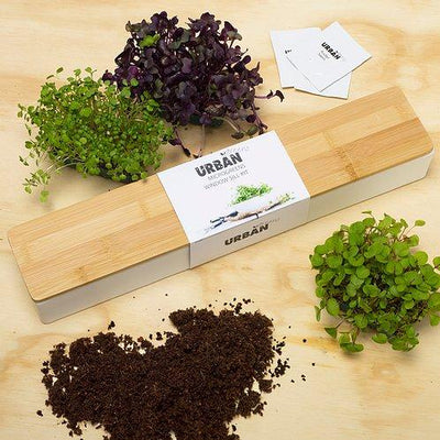 Microgreens Window Sill Kit - pod&seed online