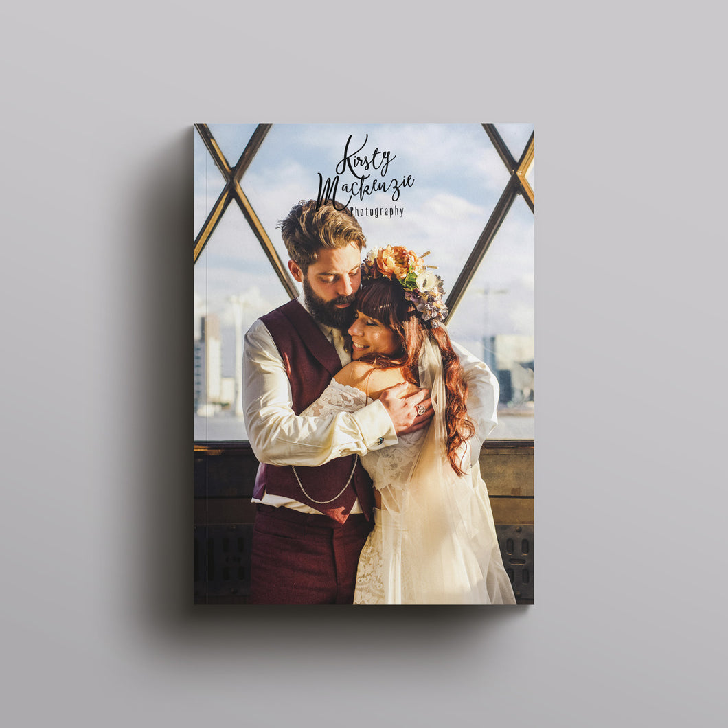 Wedding Photography Welcome Magazine Template - A4