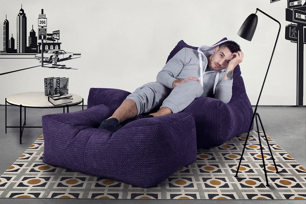 Gros Pouf Fauteuil Relax