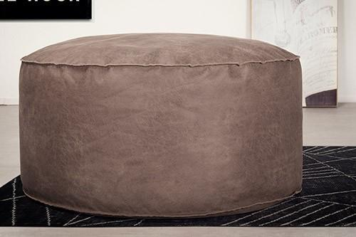 Poufs design ronds