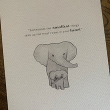Load image into Gallery viewer, Elephant New Baby Nursery Baby Winnie The Pooh Quote Room Print
