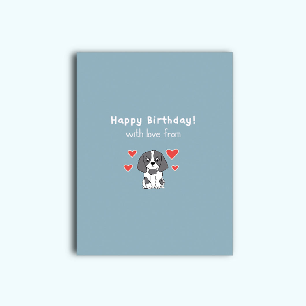 Personalised Cocker Spaniel Card (For multiple occasions)