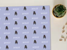 Load image into Gallery viewer, Personalised Colourful Staffordshire Bull Terrier Wrapping Paper