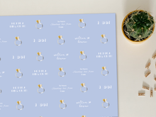 "Load image into Gallery viewer, Personalised ""Just Engaged / Wedding"" Wrapping Paper"