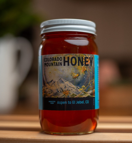 11 oz Skier's Delight Honey (From Bees on St. Benedict's Monastery Grounds)