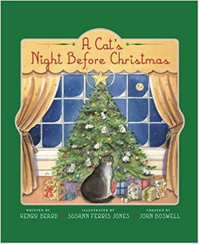 A Cat's Night Before Christmas Hardcover
