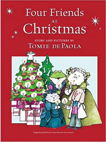 Four Friends at Christmas Paperback – Picture Book