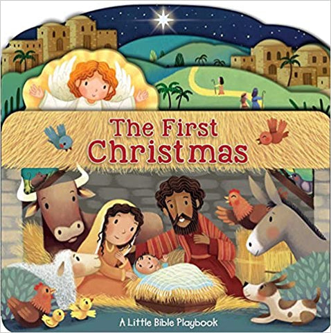 Little Bible Playbook: The First Christmas Board book – Illustrated