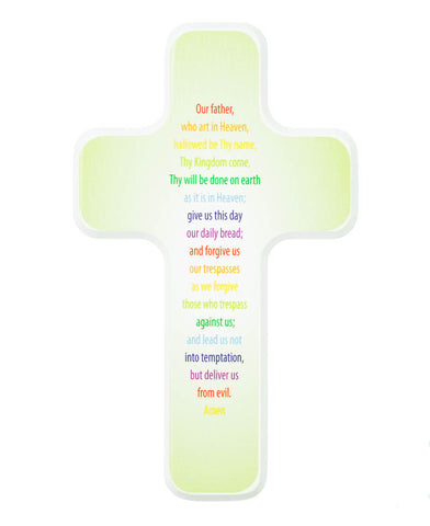 Our Father Prayer Cross