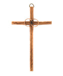 Wedding Wall Cross Bronze