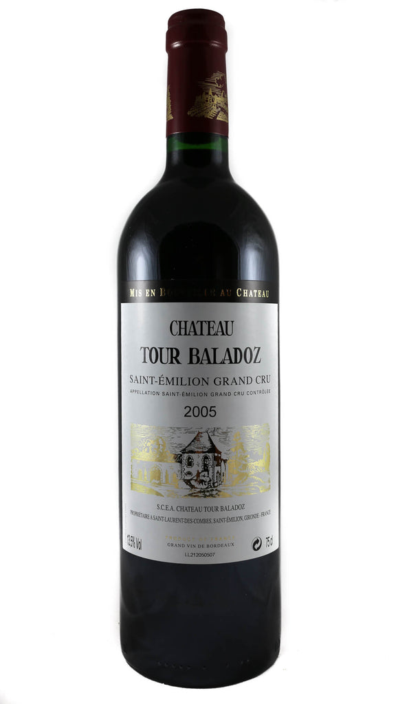 Chateau Tour Baladoz, Saint Emilion Grand Cru