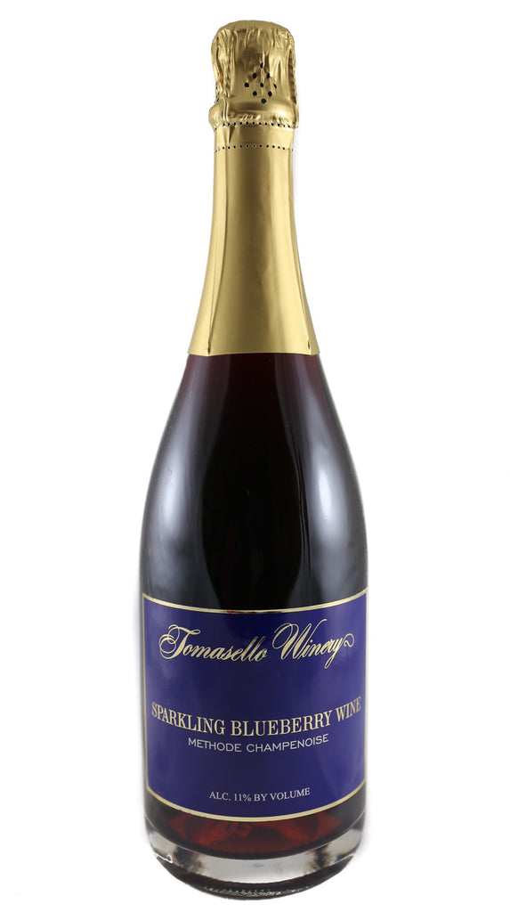 Tomasello Winery, Sparkling Blueberry Wine