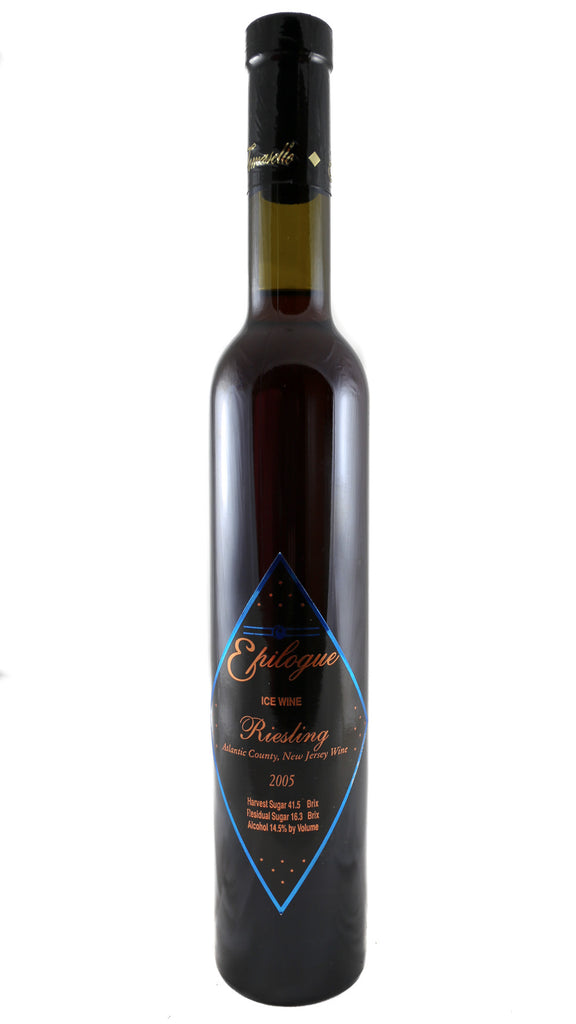 Tomasello Winery, Epilogue, Ice wine