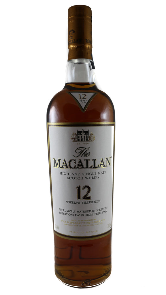 The Macallan, Highland Single Malt Scotch Whisky (12 years)