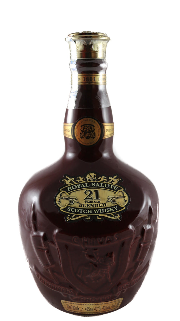 Royal Salute, Blended Scotch Whisky (21 Years Old)