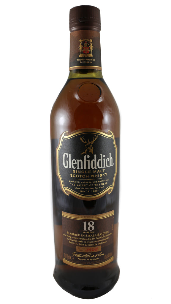 Glenfiddich, Single Malt Scotch Whisky (18, 21 years)