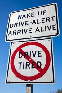 There is growing concern over drowsy driving