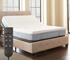 photos of adjustable air bed