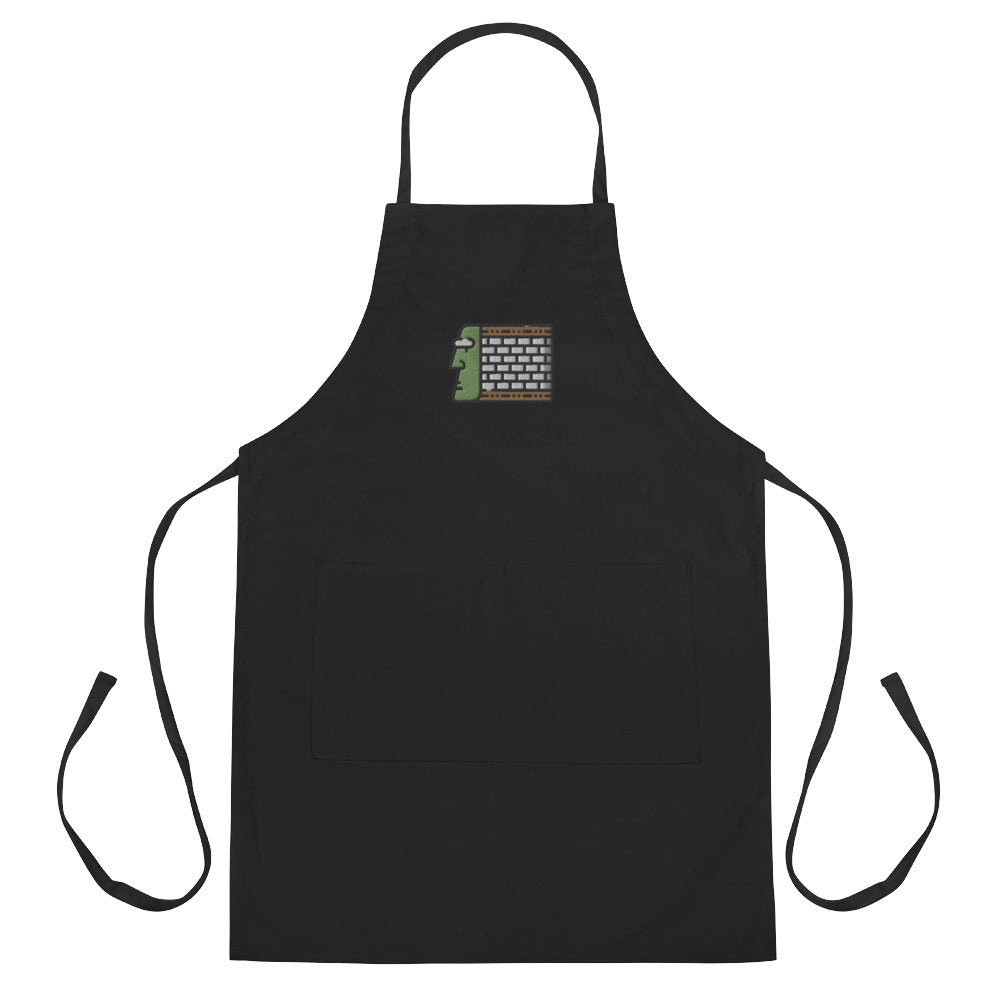 Aztec Block Embroidered Apron - FRANKdesigns.Co