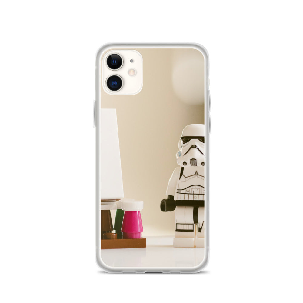 Storm Trooper Artist IPhone Case - FRANKdesigns.Co