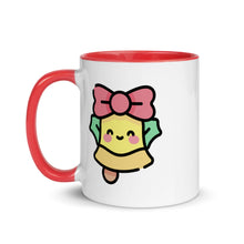 Load image into Gallery viewer, Christmas Bell Mug with Color Inside - FRANKdesigns.Co