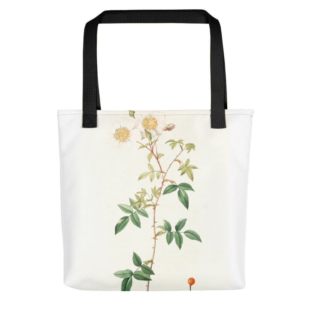 vintage flower print illustration 24 Tote bag - FRANKdesigns.Co