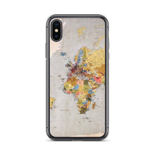 Load image into Gallery viewer, World Map IPhone Case - FRANKdesigns.Co