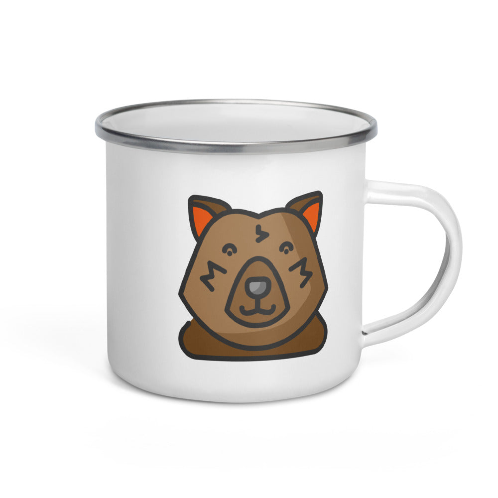 Bear Enamel Mug - FRANKdesigns.Co