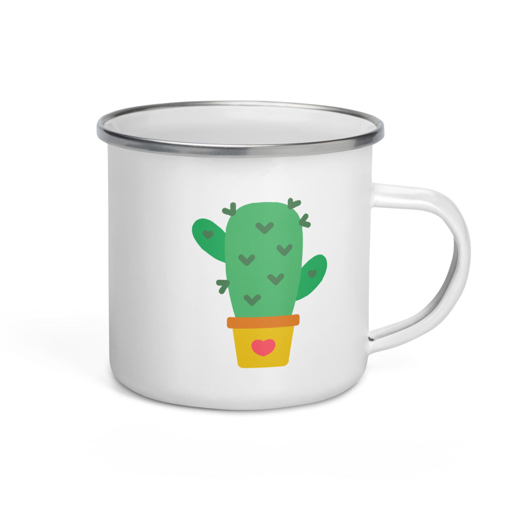 Cactus Enamel Mug - FRANKdesigns.Co