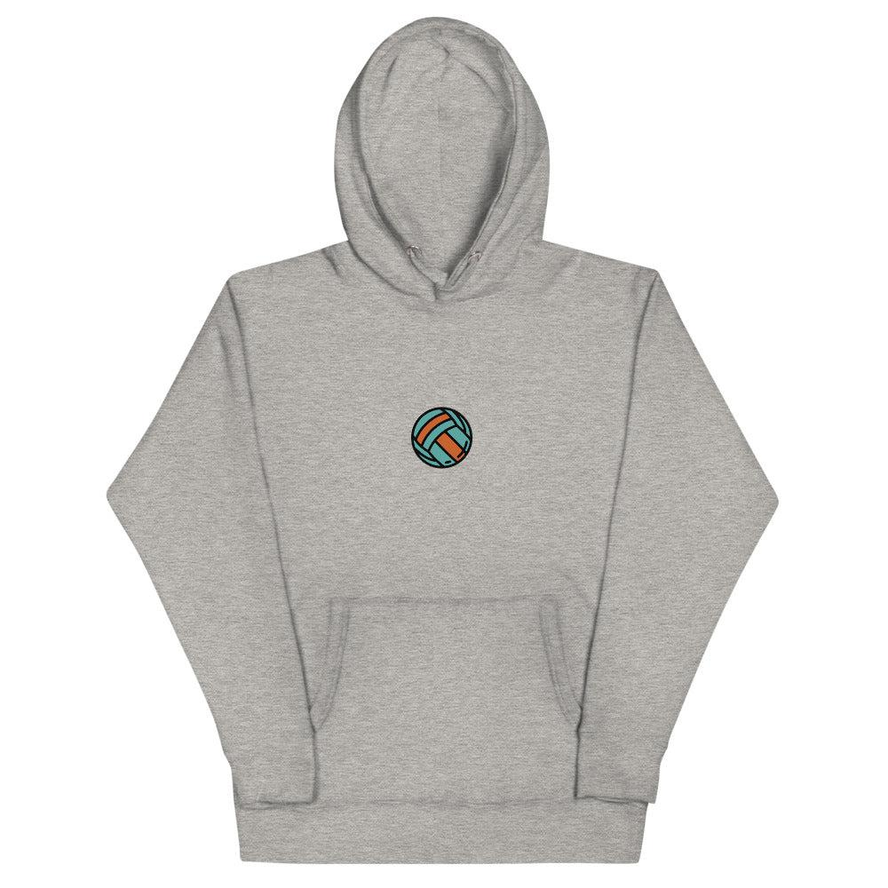 Volleyball Unisex Hoodie 2 - FRANKdesigns.Co