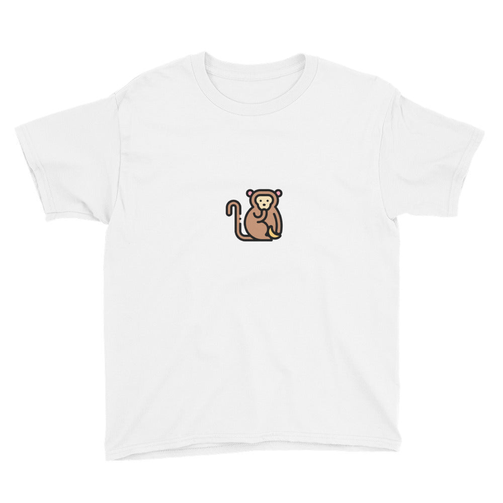Little Monkey Youth Short Sleeve T-Shirt - FRANKdesigns.Co