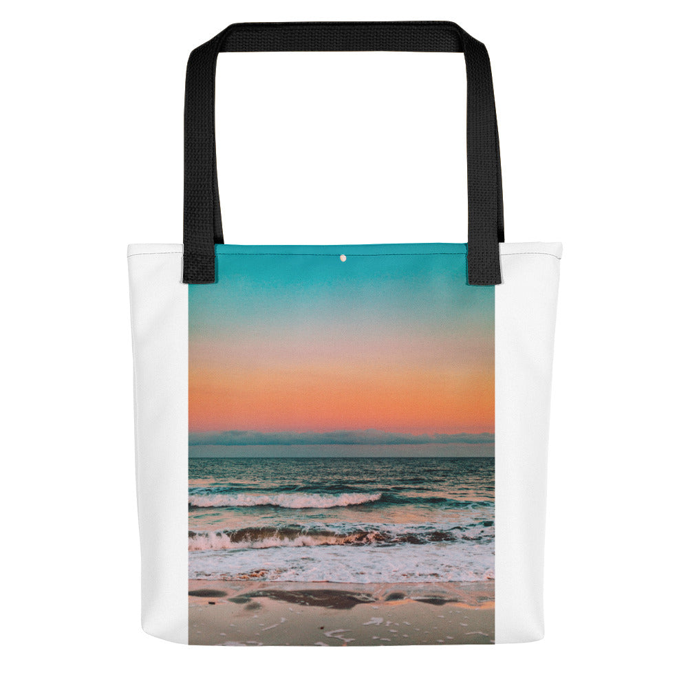 Sunset over sea Tote bag - FRANKdesigns.Co
