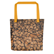 Load image into Gallery viewer, Stacked Wood Tote bag - FRANKdesigns.Co