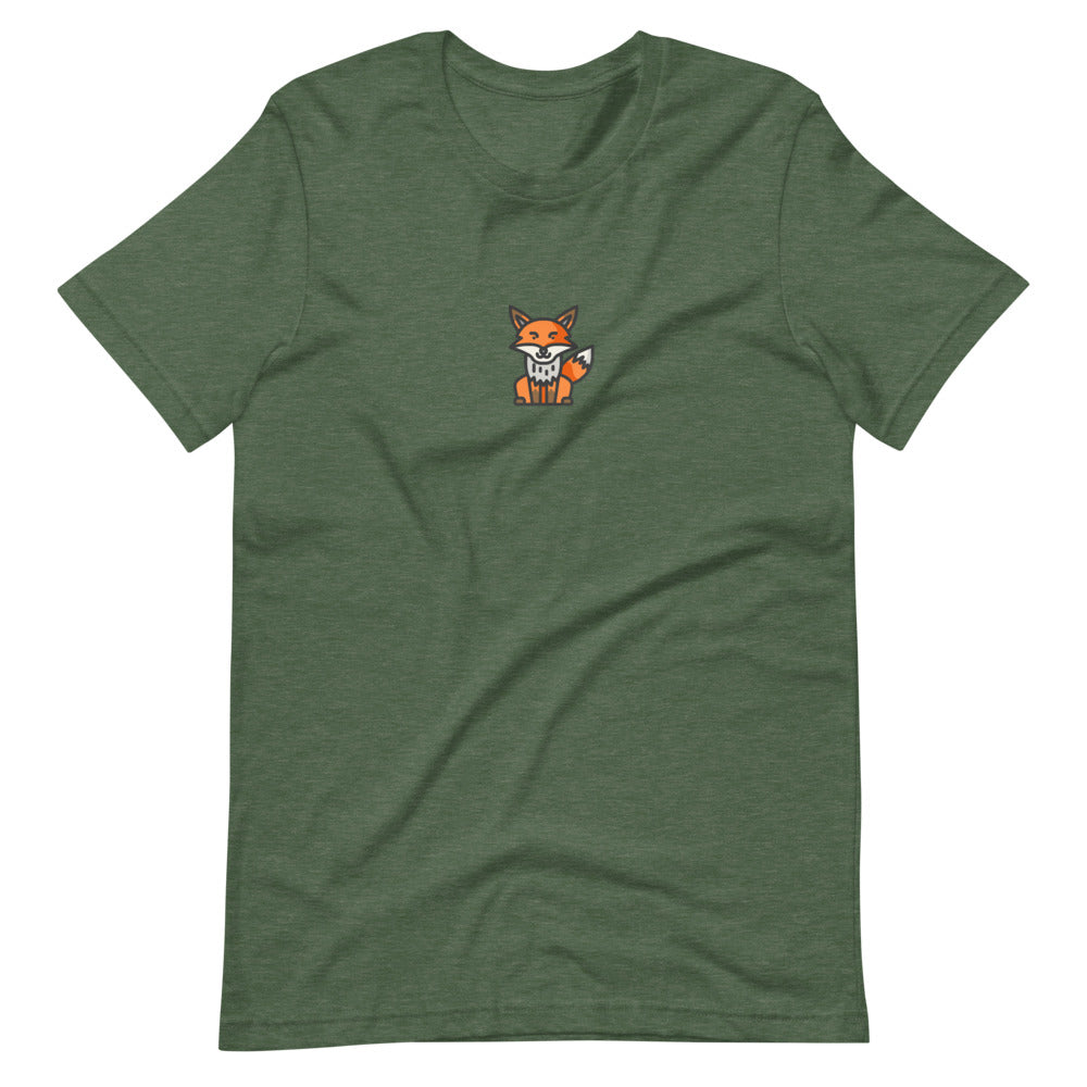 Fox T-shirt - FRANKdesigns.Co