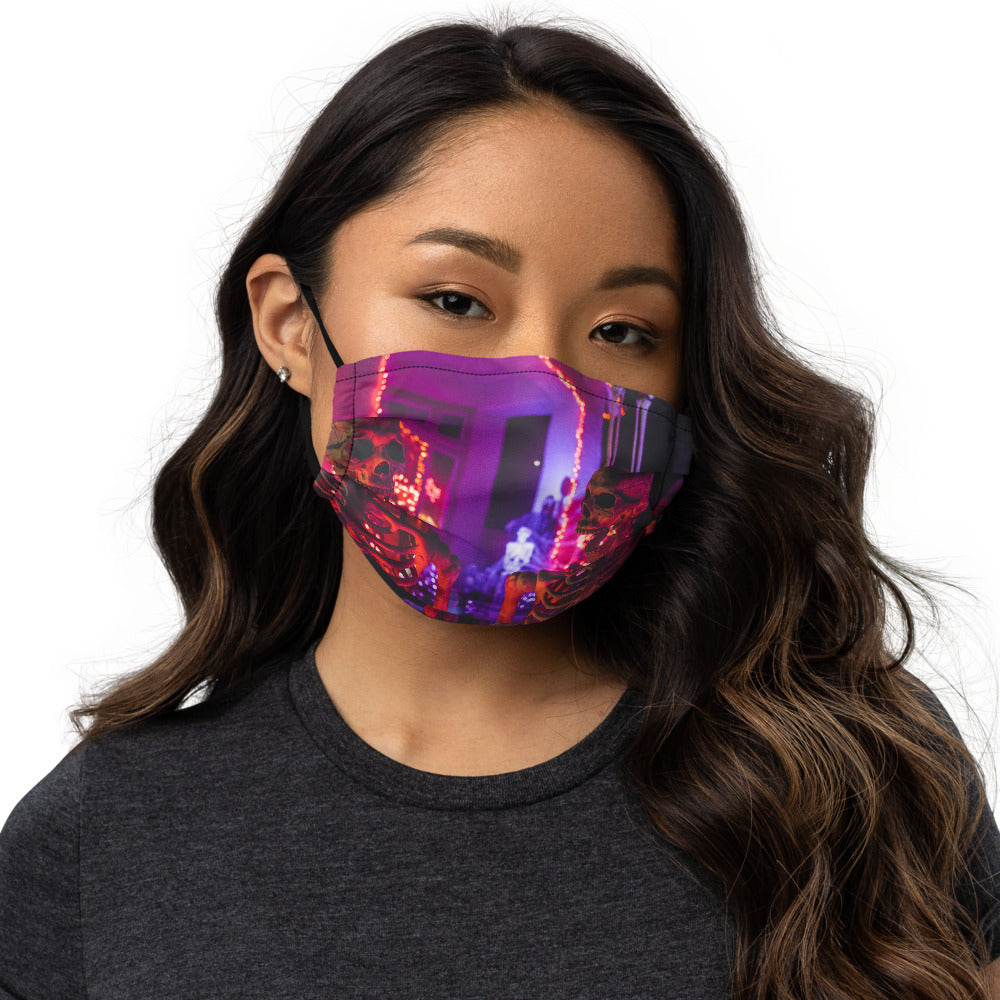 Spooky Face mask - FRANKdesigns.Co