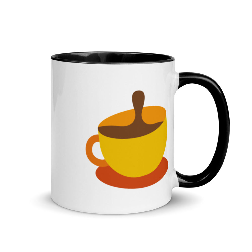 Coffee Mug with Color Inside - FRANKdesigns.Co